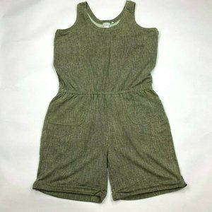 Logo Lori Goldstein French Terry Jumpsuit Romper